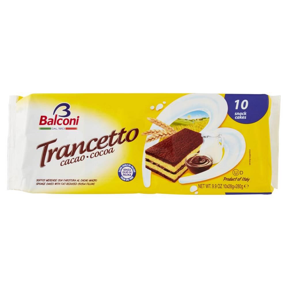 BALCONI TRANC.CACAO X10 GR280