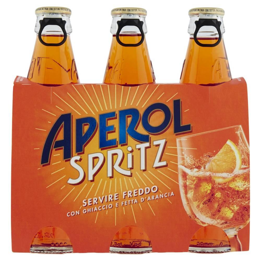 APEROL SPRITZ X3 CL17.5