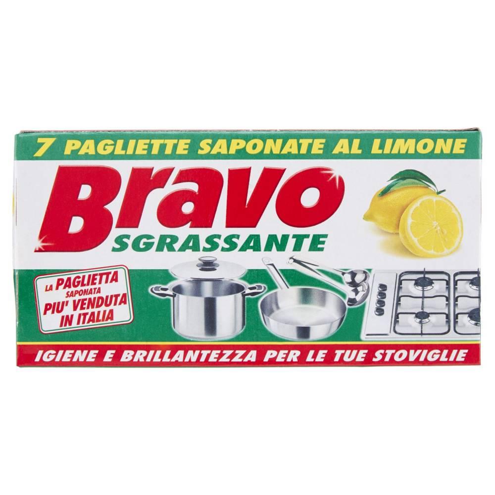 BRAVO IGIEN PAGLIETTE SAPONATE