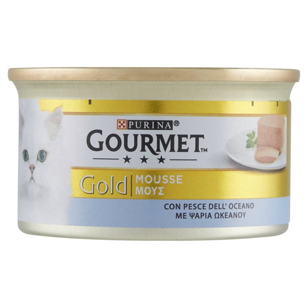 GOURMET GOLD MOUSSE PESCE G85