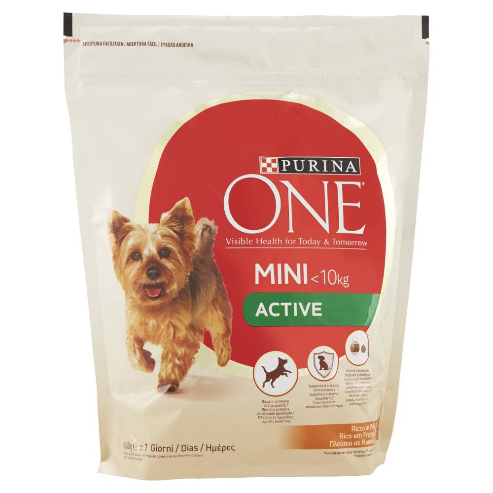 PURINA ONE DOG POL/RIS GR.800