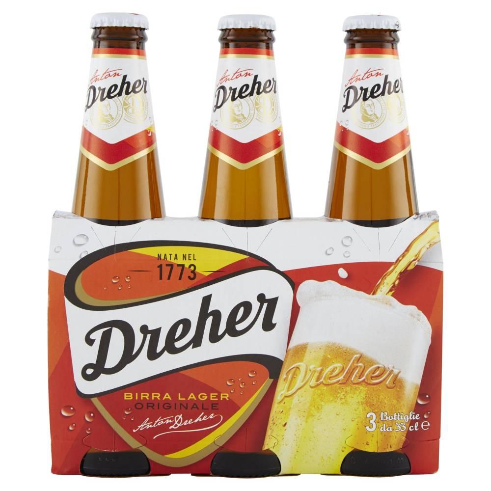 DREHER BIRRA X3 CL33