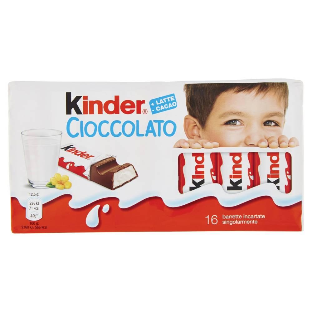 KINDER CIOCCOLATO T16 GR200
