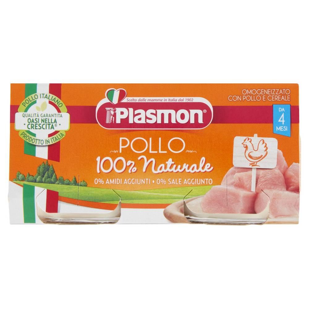 PLASMON OM.POLLO X2 GR80