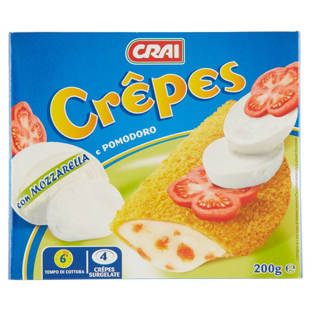 CRAI CREPES MOZZ./POMOD.GR200P