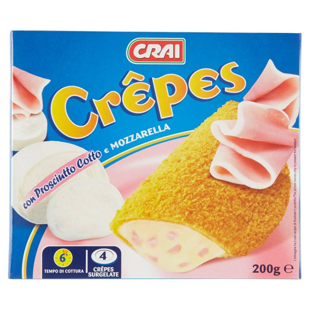 CRAI CREPES MOZZ./PROSC.GR.200