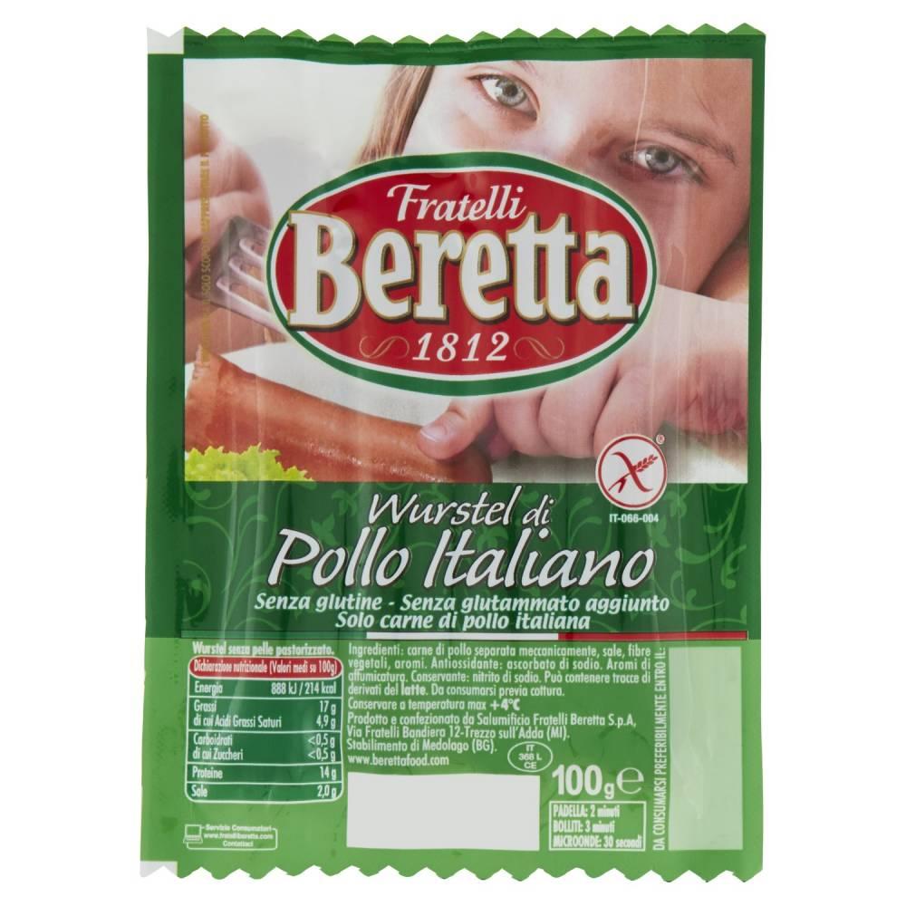 BERETTA WURST.POLLO ITAL.G.100