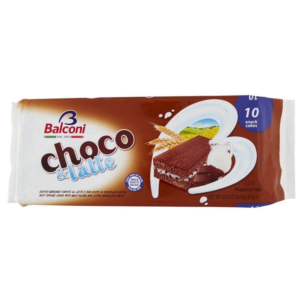 BALCONI CHOCO & LATTE X10 300G