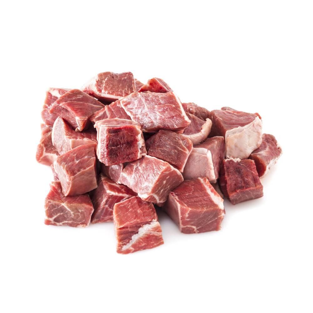 Spezzatino ii taglio di bovino 500 grammi