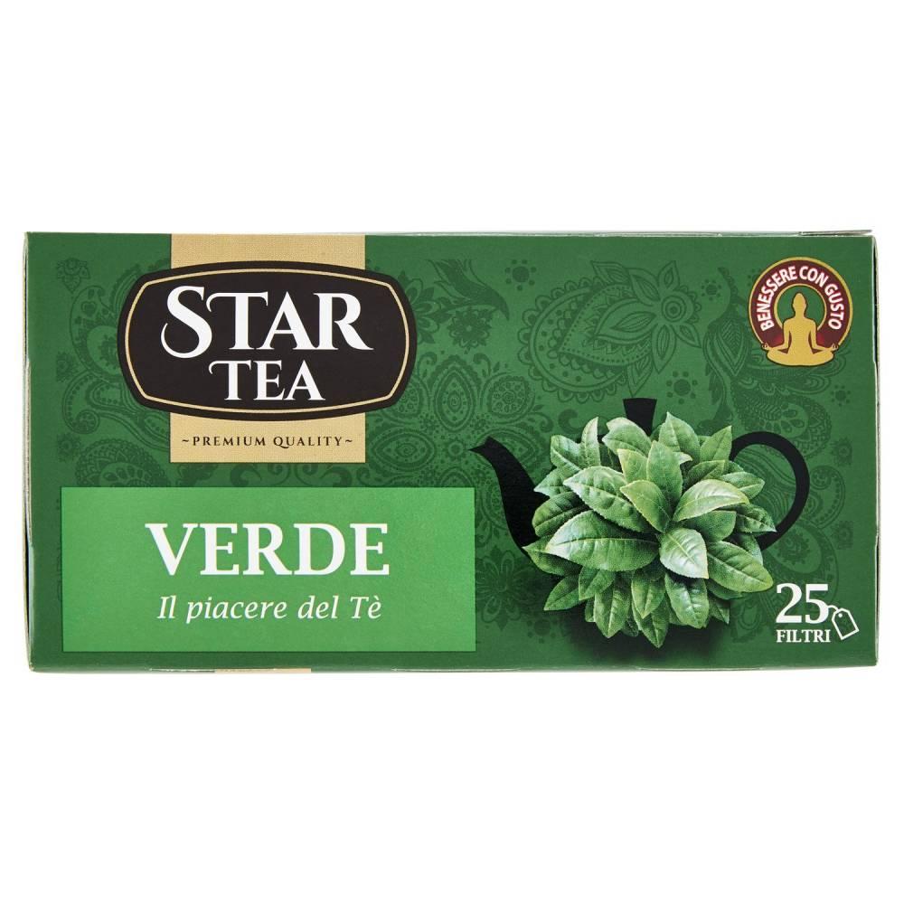 STAR TEA VERDE X25 GR82.5