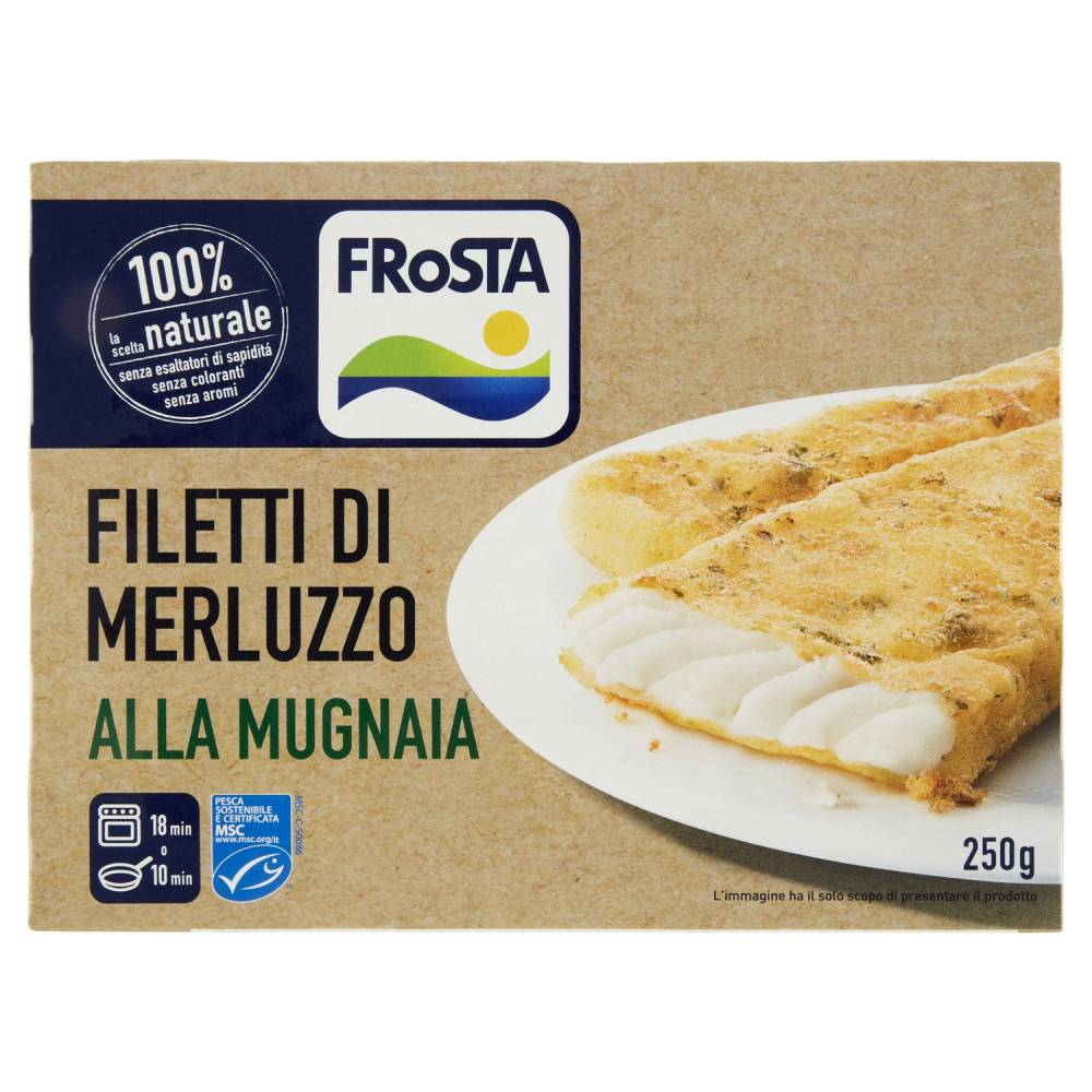 FROSTA FILET.MERL.MUGNAIA G250