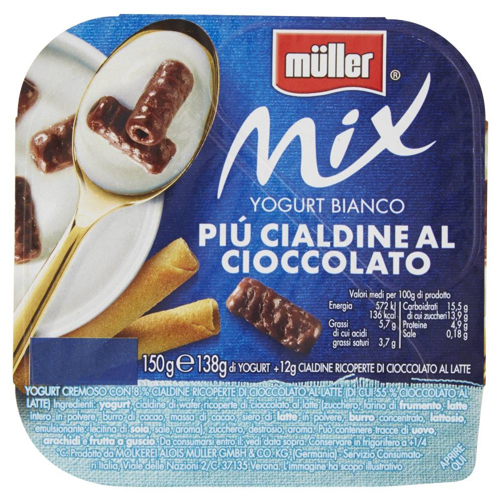 MULLER MIX BIA+CIALDINE GR 150