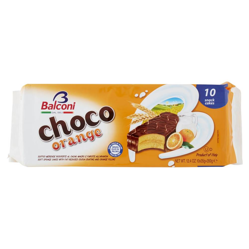 BALCONI CHOCO ORANGE X10 GR350