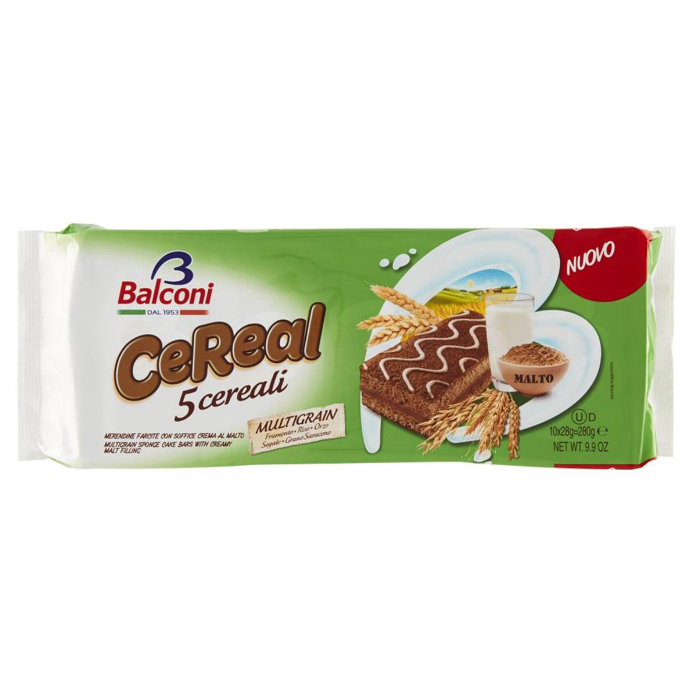 BALCONI 5 CEREAL X10 GR280