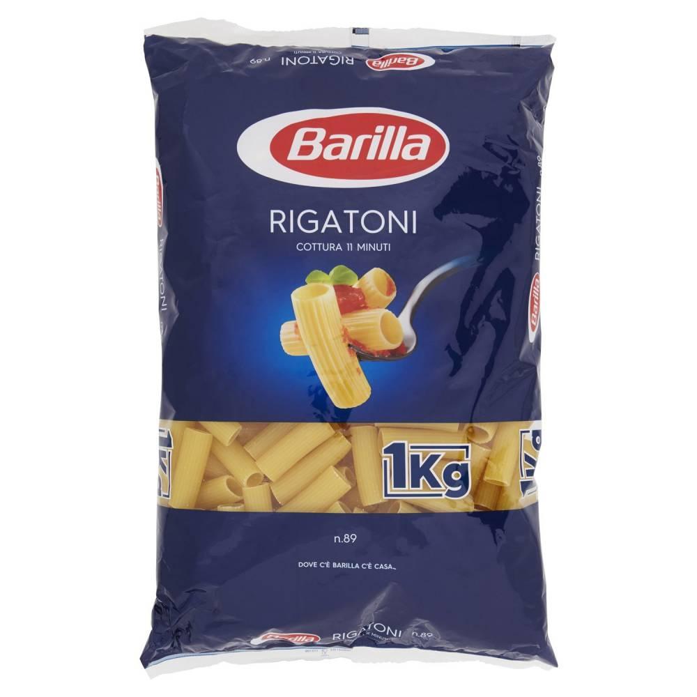BARILLA 089 RIGATONI KG1