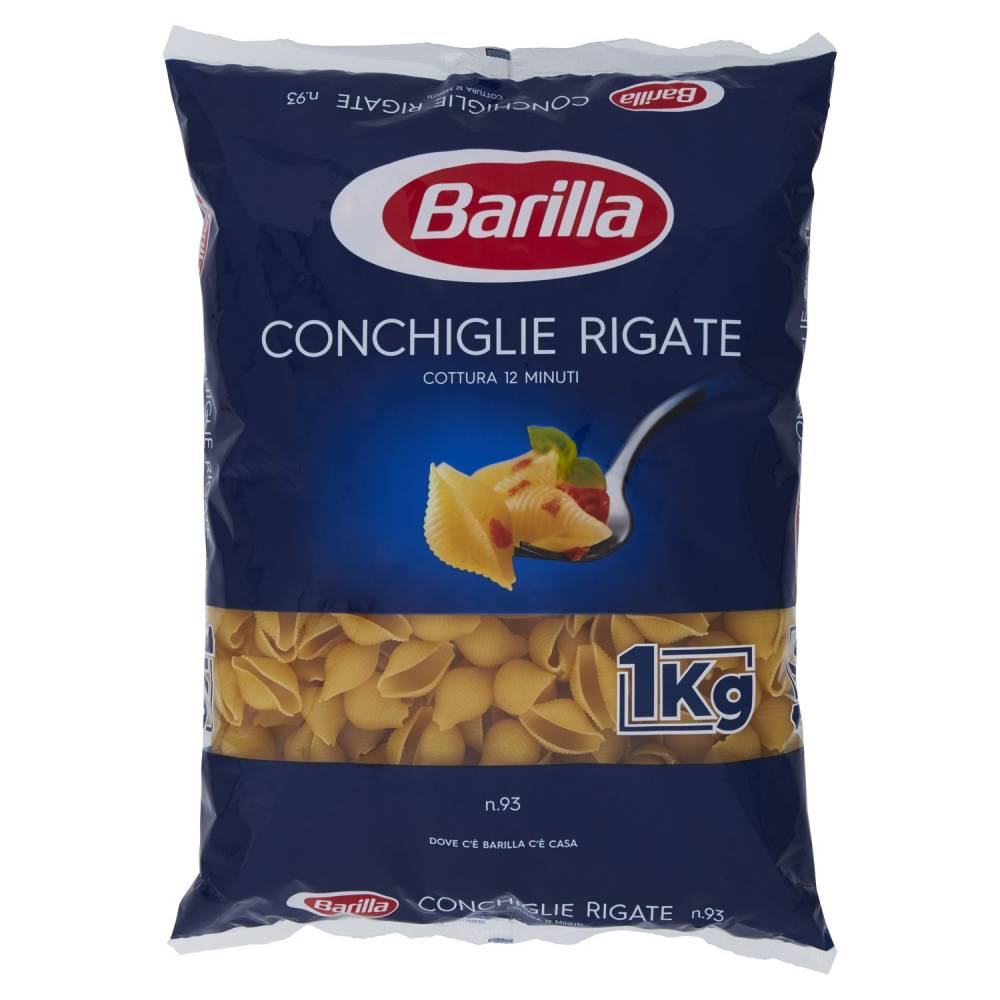BARILLA 093 CONCHIGLIE RIG.KG1