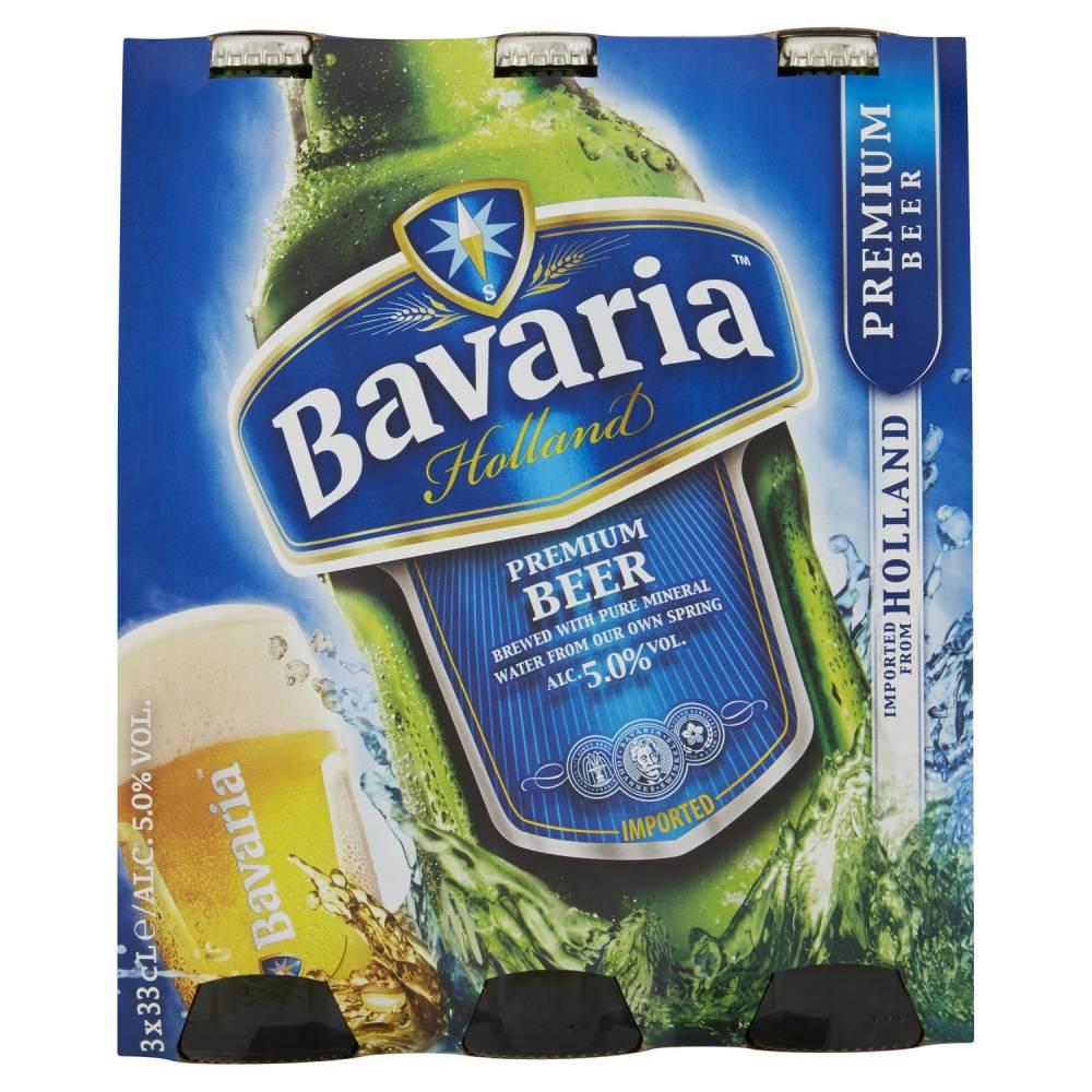 BAVARIA BIRRA PREMIUM X3 CL33