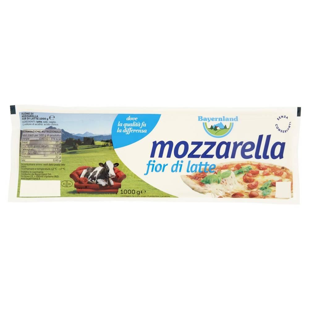 BAYERNLAND MOZZARELLA  KG.1000