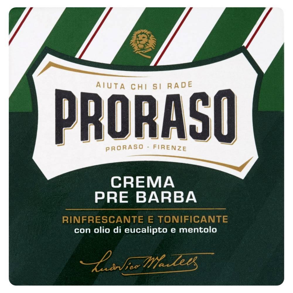PRORASO CREMA P/BARBA RINFRESC