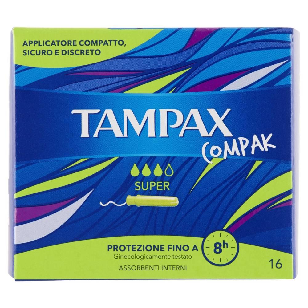 TAMPAX COMPAK SUPER 16