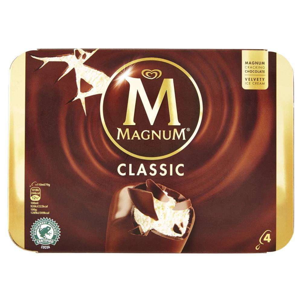 ALGIDA MAGNUM CLASSICOX4 G316