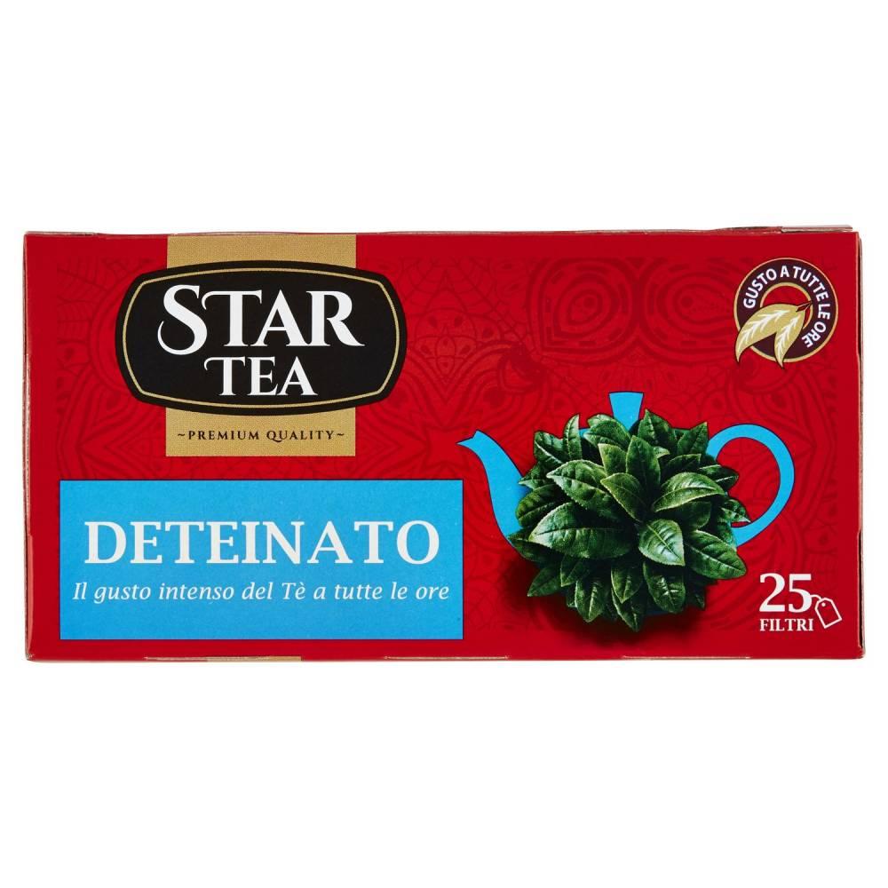 STAR TEA DETEINATO X25 GR80
