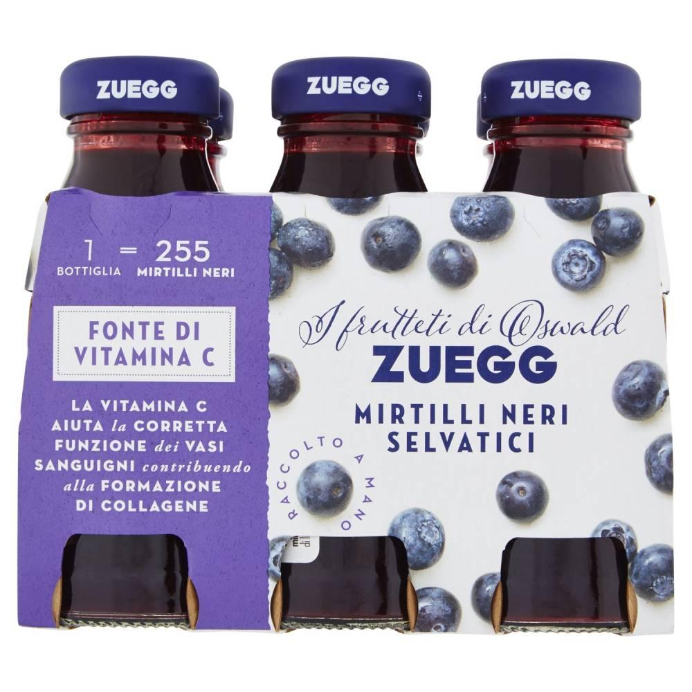 ZUEGG SUCCO MIRTILLI X6 ML125