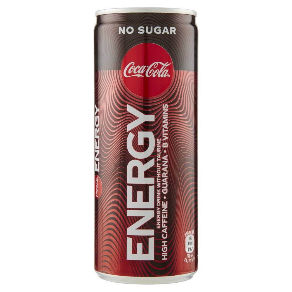 COKE ENERGY ZERO CAN CL.25